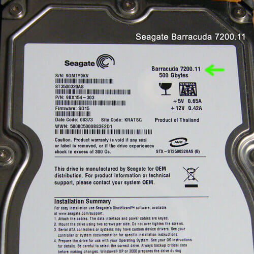 Драйвер Для Seagate St3320613as