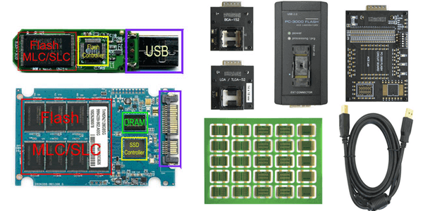 восстановление данных с SSD